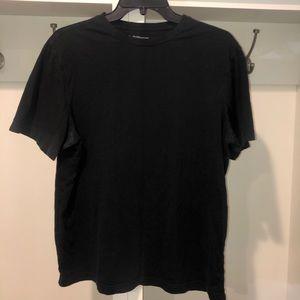 Men's croft&barrow men's black T-shirt size med